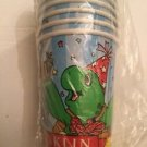 Vintage Franklin Party Cups Pack Of 8 9 Oz Mult Available Turtle Beaver Snail