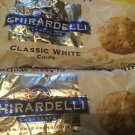 Ghirardelli Chocolate Premium Being Chips Classic White Chocolate Two Bags 11oz