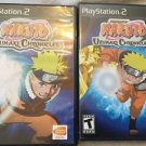 Naruto: Uzumaki Chronicles 1 And 2 PlayStation 2 PS2 Complete Game Lot Shonen