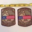 Patch Memorabilia Operation Desert Storm Shield USA Lot Military Americana