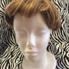 Paula Young Wig Topper Clip On Women's Short Wavy Light Brown No4