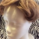 Paula Young Wig Topper Clip On Women's Short Wavy Light Brown No3