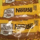 Three Nestle Toll House Butterscotch Baking Morsels Chips 11 ounce bags Ex 01/18