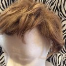 Paula Young Wig Topper Clip On Women's Short Wavy Light Brown No7