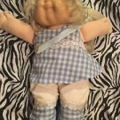 Cabbage Patch Doll 1986 Cornsilk Girl Blond Hair Blue Eyes Coleco Original