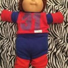Cabbage Patch Doll 1985 Boy Brown Hair Brown Eyes Coleco Diaper Dimple Clothes