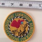 Vintage Patch Memorabilia Greater La Fourche Port Commission Commissioner Round