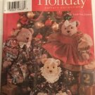 Simplicity Pattern 7452 One Size Holiday Collection Bear And Clothes