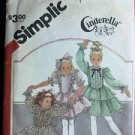 Simplicity Pattern 6179 Girls Dress Size 5 Frilly Easter Cinderella Party