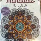 Adult Coloring Book Mandalas 2 Patterns Kappa Designer Series Stress Relief