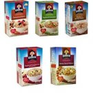 Quaker Instant Oatmeal 48 Individual Packs Cinnamon Spice Apple Maple Cranberrie