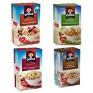 Quaker Instant Oatmeal 38 Individual Packs Cinnamon Spice Apple Maple Cranberrie