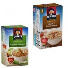 Quaker Apples Cinnamon Maple Brown Sugar Instant Oatmeal 20 Packs Individual