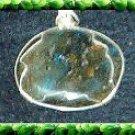 Silver Wrapped Labradorite Stone