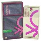 B United Jeans By Benetton Eau De Toilette Spray 3.3 Oz