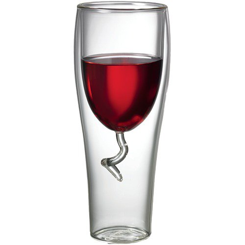 Starfrit 8-Ounce Double-Wall Wine Glass