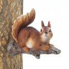 Lounging Squirrel Tree Decor
