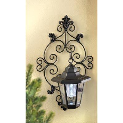 Outdoor Solar Wall Lantern