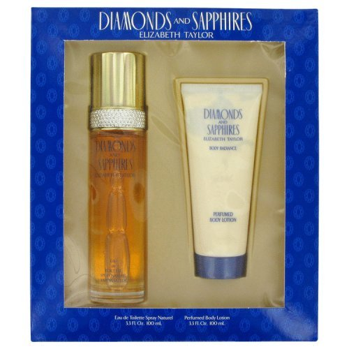 Diamonds And Saphires By Elizabeth Taylor Gift Set