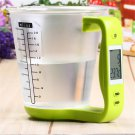 Digital Cup Scale Electronic Measuring Household Scales LCD Display Measuring Cup