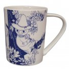 Moomin Valley Botanical Art Porcelain Mug Yamaka MM173-11 Snufkin