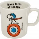 Snoopy Peanuts Porcelain Mug Yamaka SN221-11 Flying Ace