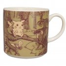 Pocket Monster Forest Porcelain Mug Yamaka PM101-11