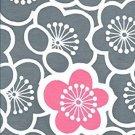 Todaya Shoten Plum Blossoms Design Chusen Tenugui Towel