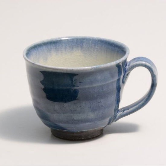 Shigaraki Pottery Ai-zome Mug 3-1080 Made in Japan