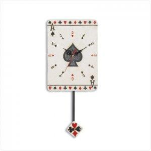 Card Clock with Pendulum