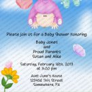 Personalized Baby Shower Invitaitons Baby Girl2029