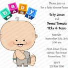 Personalized Baby Shower Invitaitons Baby1021