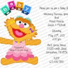 Personalized Baby Shower Invitaitons (babygirl2186)