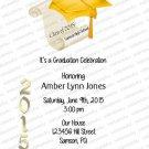 Personalized Graduation Invitations (graduation928)