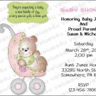 Personalized Baby Shower Invitations (babygirl2236)