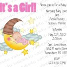 Personalized Baby Shower Invitations (babygirl2228)