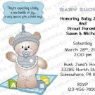 Personalized Baby Shower Invitations (babyboy1226)
