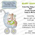 Personalized Baby Shower Invitations (babyboy1230)