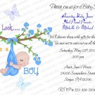 Personalized Baby Shower Invitations (babyboy1213)