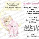 Personalized Baby Shower Invitations (babygirl2239)