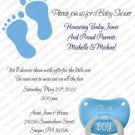 Personalized Baby Shower Invitations (babyboy1218)