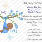 Personalized Baby Shower Invitations (babyboy1216)