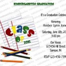 Personalized Preschool Graduation Invitations (preschoolgrad 003)