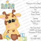 Personalized Baby Shower Invitations (babyboy1202)