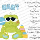 Personalized Baby Shower Invitations (babyboy1206)