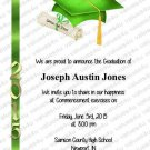Personalized Graduation Commencement Invitations (graduationcommencement907)