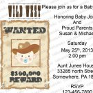 Personalized Baby Shower Invitations (babyboy1200)