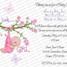 Personalized Baby Shower Invitation (babygirl2203)