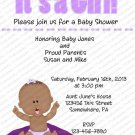 Personalized Baby Shower Invitations (baby girl2034)