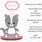 Personalized Baby Shower Invitation (babygirl2246)